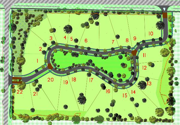 Campo verde green subdivision for Subdivision planning and design